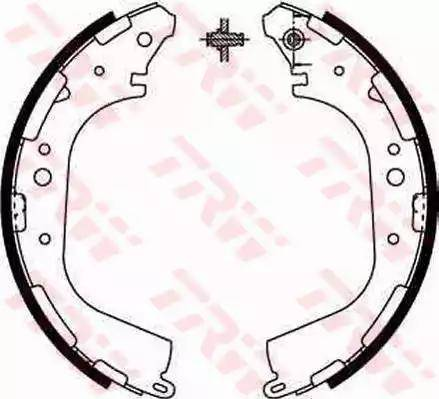 TRW GS8590 - Jeu de freins, freins à tambour www.widencarpieces.com