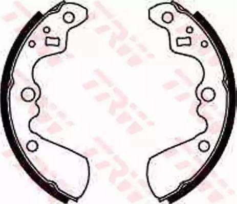 TRW GS8597 - Jeu de freins, freins à tambour www.widencarpieces.com