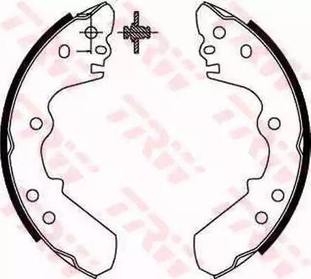 TRW GS8551 - Jeu de freins, freins à tambour www.widencarpieces.com