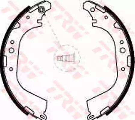 TRW GS8501 - Jeu de freins, freins à tambour www.widencarpieces.com