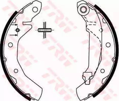 RIDER RD.2638.GS8645 - Jeu de freins, freins à tambour www.widencarpieces.com