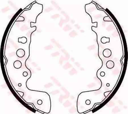 TRW GS8670 - Jeu de freins, freins à tambour www.widencarpieces.com