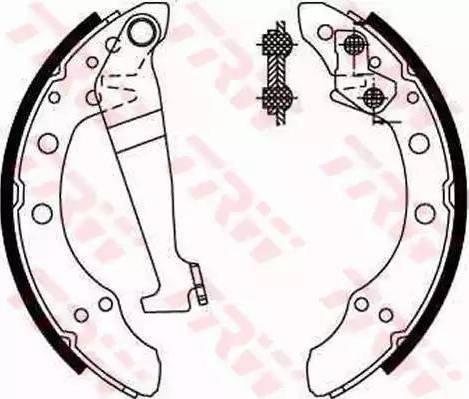 RIDER RD.2638.GS8092 - Jeu de freins, freins à tambour www.widencarpieces.com
