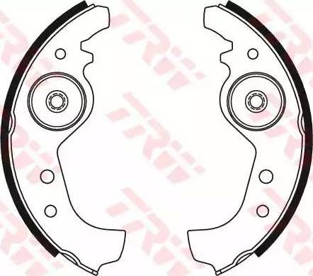 TRW GS8160 - Jeu de freins, freins à tambour www.widencarpieces.com