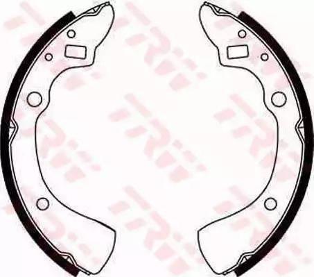 TRW GS8125 - Jeu de freins, freins à tambour www.widencarpieces.com