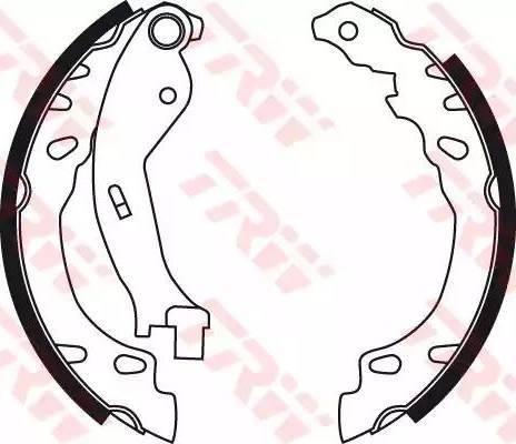 TRW GS8711 - Jeu de freins, freins à tambour www.widencarpieces.com
