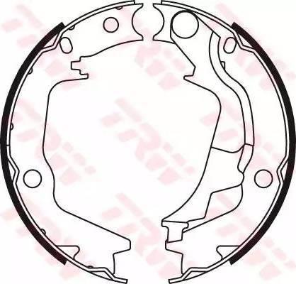 TRW GS8782 - Jeu de mâchoires de frein, frein de stationnement www.widencarpieces.com