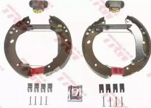 TRW GSK1863 - Jeu de freins, freins à tambour www.widencarpieces.com