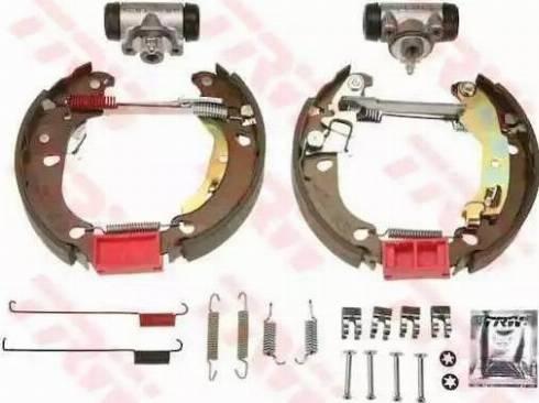 TRW GSK1770 - Jeu de freins, freins à tambour www.widencarpieces.com