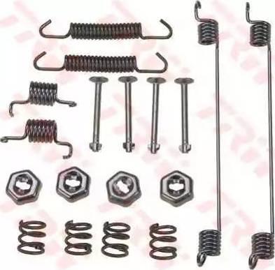 TRW SFK144 - Kit d'accessoires, mâchoire de frein www.widencarpieces.com