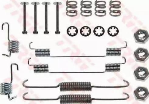 TRW SFK168 - Kit d'accessoires, mâchoire de frein www.widencarpieces.com