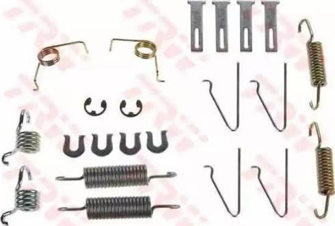 TRW SFK243 - Kit d'accessoires, mâchoire de frein www.widencarpieces.com