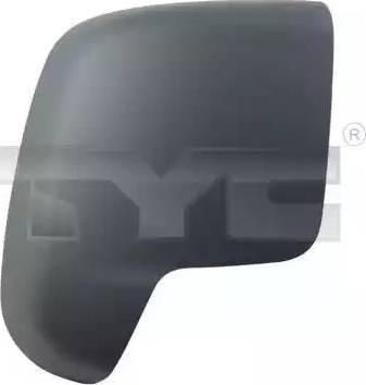 TYC 309-0137-2 - Revêtement, rétroviseur extérieur www.widencarpieces.com