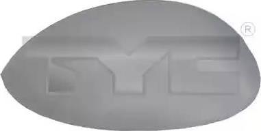 TYC 305-0159-2 - Revêtement, rétroviseur extérieur www.widencarpieces.com