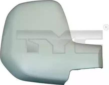 TYC 305-0133-2 - Revêtement, rétroviseur extérieur www.widencarpieces.com