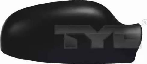 TYC 338-0024-2 - Revêtement, rétroviseur extérieur www.widencarpieces.com