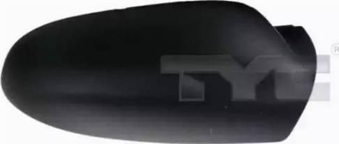 TYC 337-0151-2 - Revêtement, rétroviseur extérieur www.widencarpieces.com