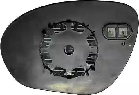TYC 324-0043-1 - Verre de rétroviseur, rétroviseur extérieur www.widencarpieces.com