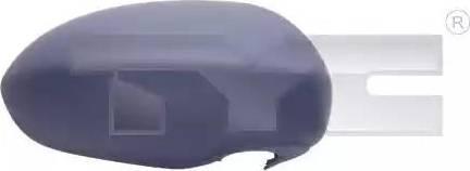 TYC 325-0091-2 - Revêtement, rétroviseur extérieur www.widencarpieces.com