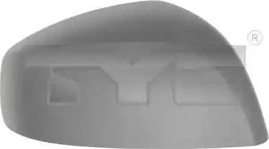 TYC 325-0119-2 - Revêtement, rétroviseur extérieur www.widencarpieces.com