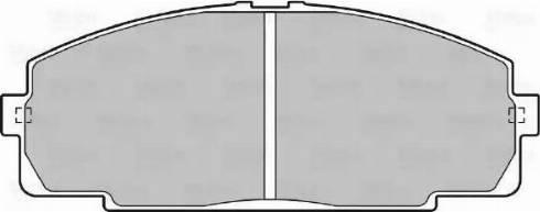Valeo 598947 - Kit de plaquettes de frein, frein à disque www.widencarpieces.com