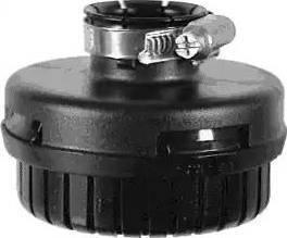 Wabco 4324070700 - Amortisseur de bruit, système d'air comprimé www.widencarpieces.com