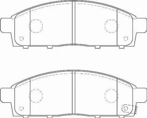Wagner WBP24529A - Kit de plaquettes de frein, frein à disque www.widencarpieces.com