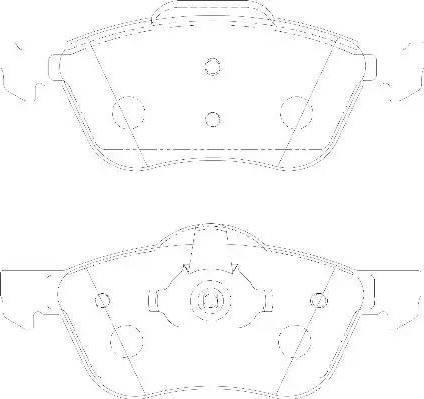 Wagner WBP23159A - Kit de plaquettes de frein, frein à disque www.widencarpieces.com