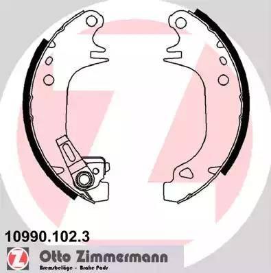 Zimmermann 10990.102.3 - Jeu de freins, freins à tambour www.widencarpieces.com
